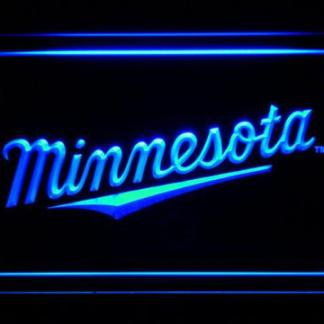 Minnesota Twins 3 neon sign LED