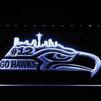 Seattle Seahawks #12 neon sign LED