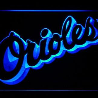 Baltimore Orioles 1995-1997 Text - Legacy Edition neon sign LED