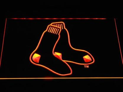 Boston Red Sox 4 neon sign LED