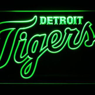 Detroit Tigers 3 neon sign LED