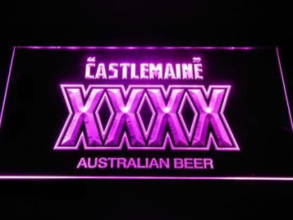 Castlemaine XXXX neon sign LED