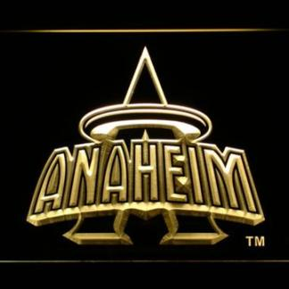 Los Angeles Angels of Anaheim 1997-2001 Anaheim Halo Logo - Legacy Edition neon sign LED