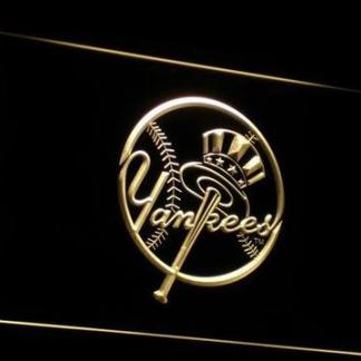 New York Yankees 1 neon sign LED