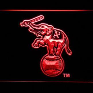 Oakland Athletics Elephant Logo neon sign LED