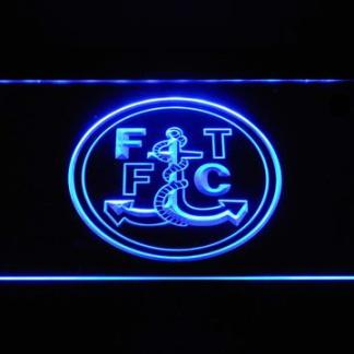 Fleetwood Town F.C. neon sign LED