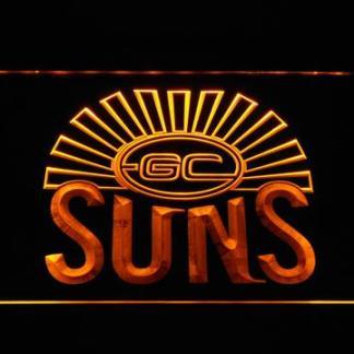 Gold Coast Suns neon sign LED