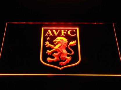 Aston Villa FC neon sign LED