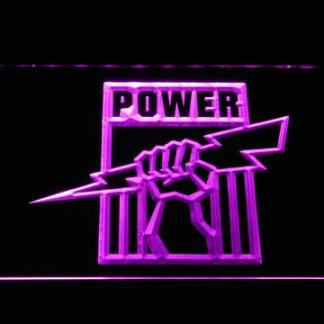 Port Adelaide Power neon sign LED
