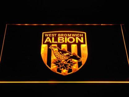 West Bromwich Albion Football Club neon sign LED