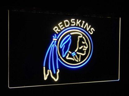 Washington Redskins Football Bar Decor Dual Color Led Neon Sign neon sign LED