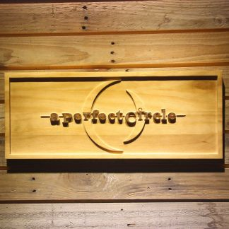 A Perfect Circle Wood Sign neon sign LED