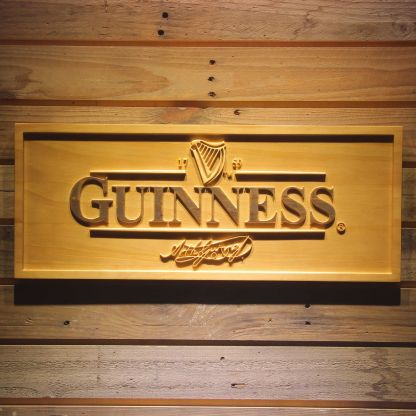 Guinness Wood Sign neon sign LED