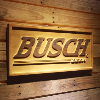 Busch Wood Sign neon sign LED