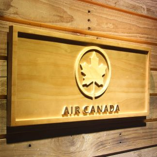 Air Canada Wood Sign neon sign LED
