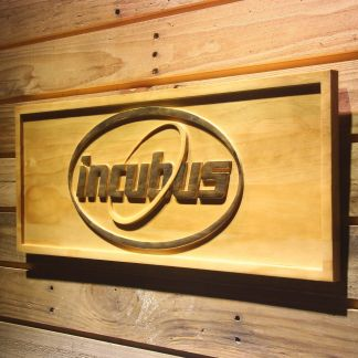 Incubus Orbit Wood Sign neon sign LED