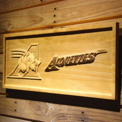 Montreal Alouettes Wood Sign neon sign LED