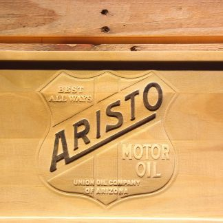 Aristo Motor Oil Wood Sign neon sign LED