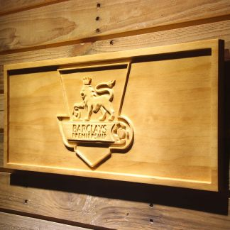 Barclays Premiership Budweiser Wood Sign - Legacy Edition neon sign LED