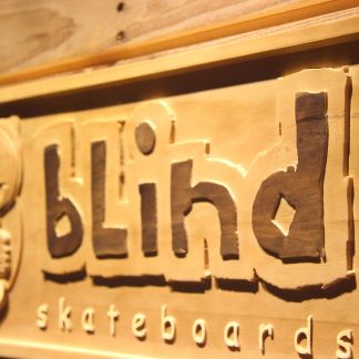 Blind Wood Sign - Legacy Edition neon sign LED