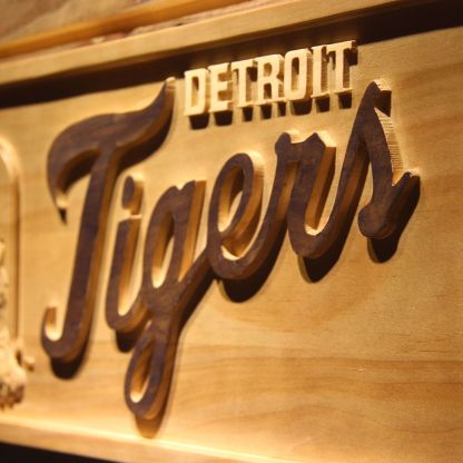 Detroit Tigers Wood Sign - Legacy Edition neon sign LED
