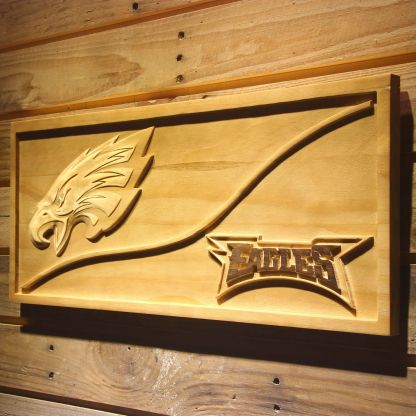 Philadelphia Eagles Split Wood Sign neon sign LED