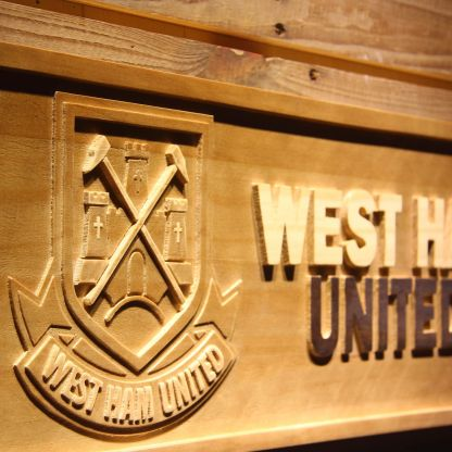 West Ham United Wood Sign - Legacy Edition neon sign LED