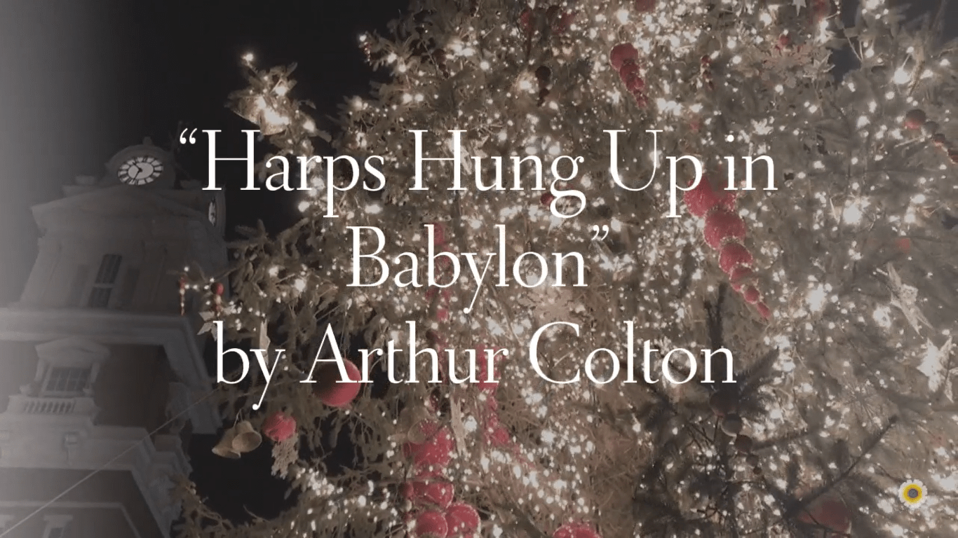 """Harps Hung Up in Babylon"""