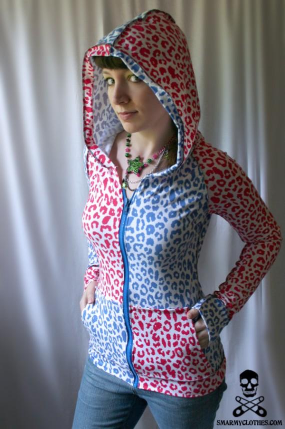 Oversized Hood Pattern : oversized, pattern, Oversized, Sewing, Pattern