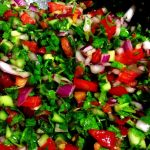 How to Make the Healthiest & Most Delicious Persian Salad Shirazi
