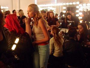 Katty Xiomara Nolcha Fashion Week Backstage