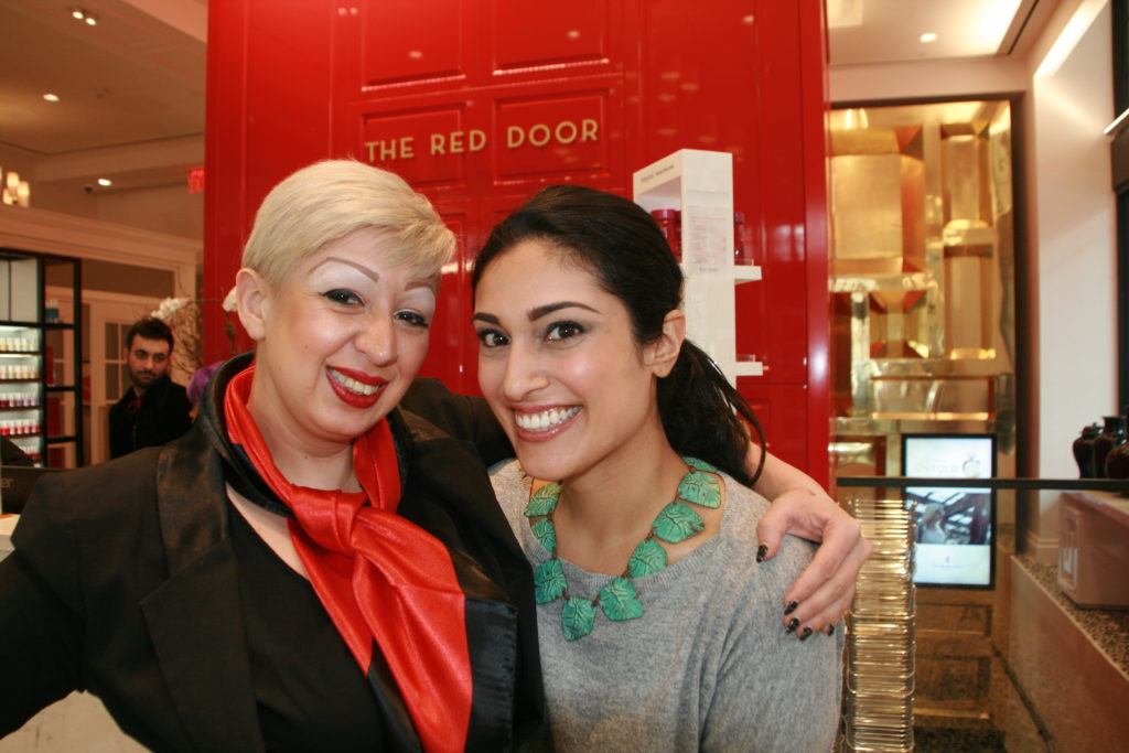 Lunchtime Facials At Elizabeth Ardens The Red Door Spa In Nyc
