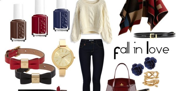 Fall in Love ❤ Styling with My Favorite Nail Colors by Essie