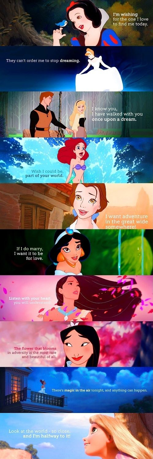 The Best Disney Quotes to Help us Believe -