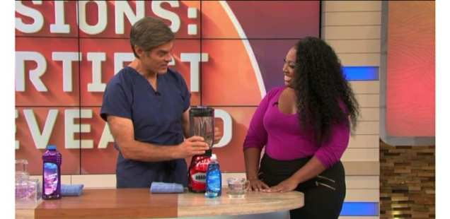 "You Won't Believe What Lives Inside Your ""Clean"" Blender // My Day With Dr. OZ!"