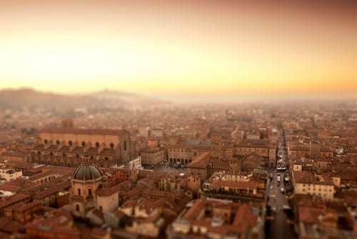 Italy, Emilia-Romagna, Mediterranean area, Bologna district, Bologna by SalvadoriArte