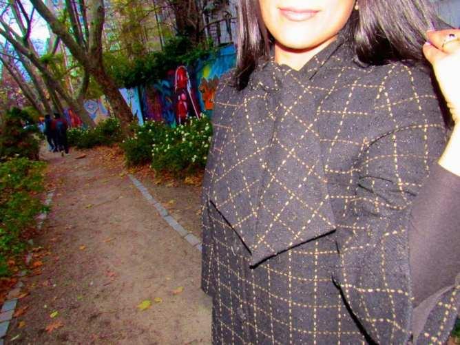 Wearing Julie Brown NYC
