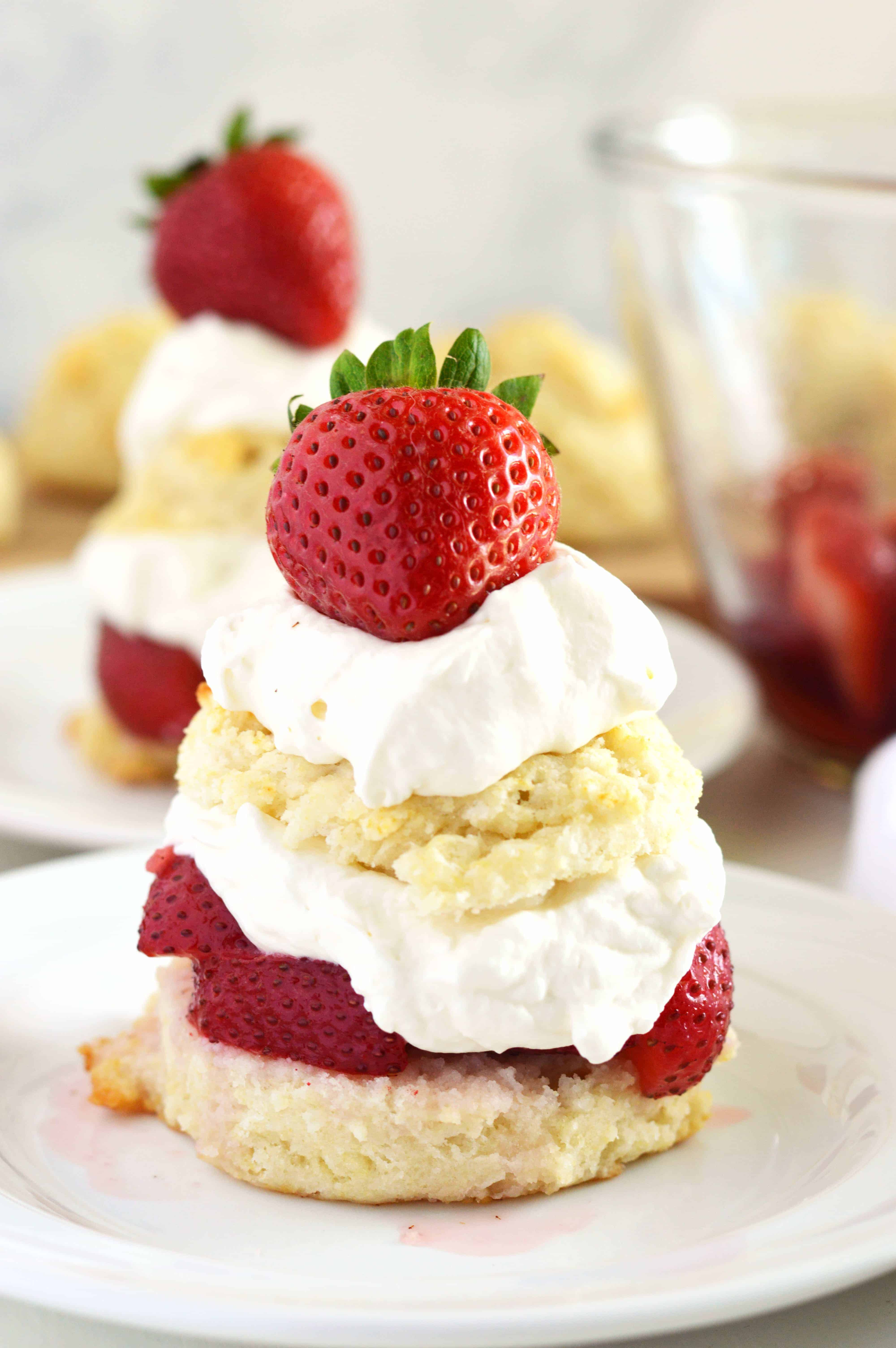 Gluten Free Strawberry Shortcake  What The Fork