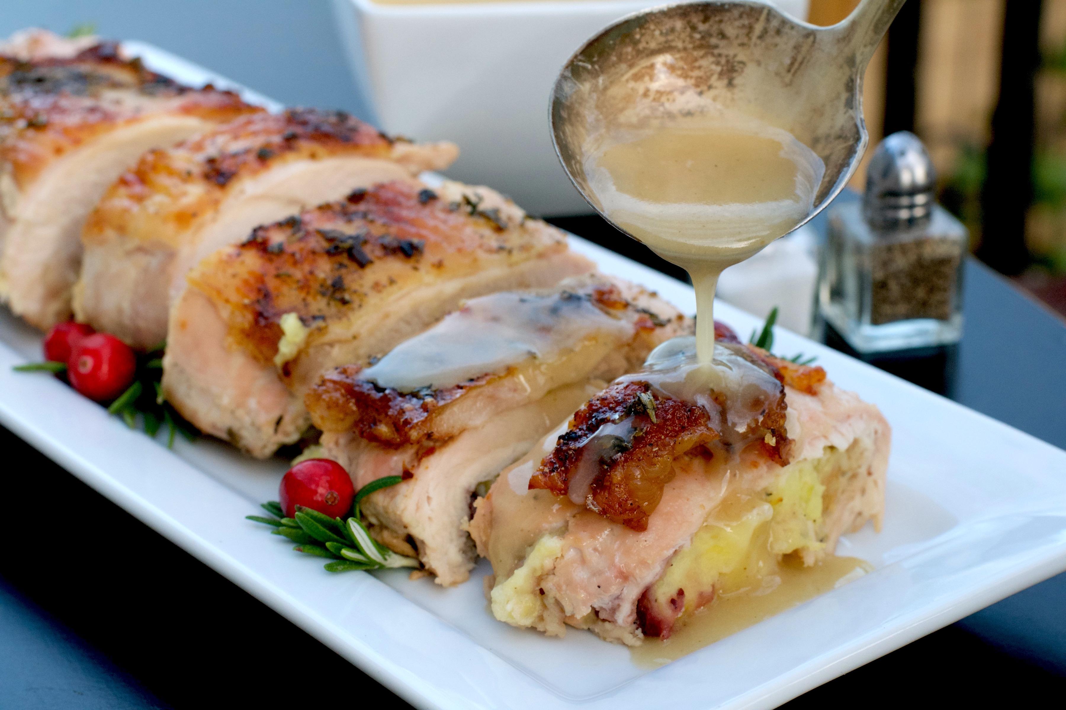 Thanksgiving Turkey Roll