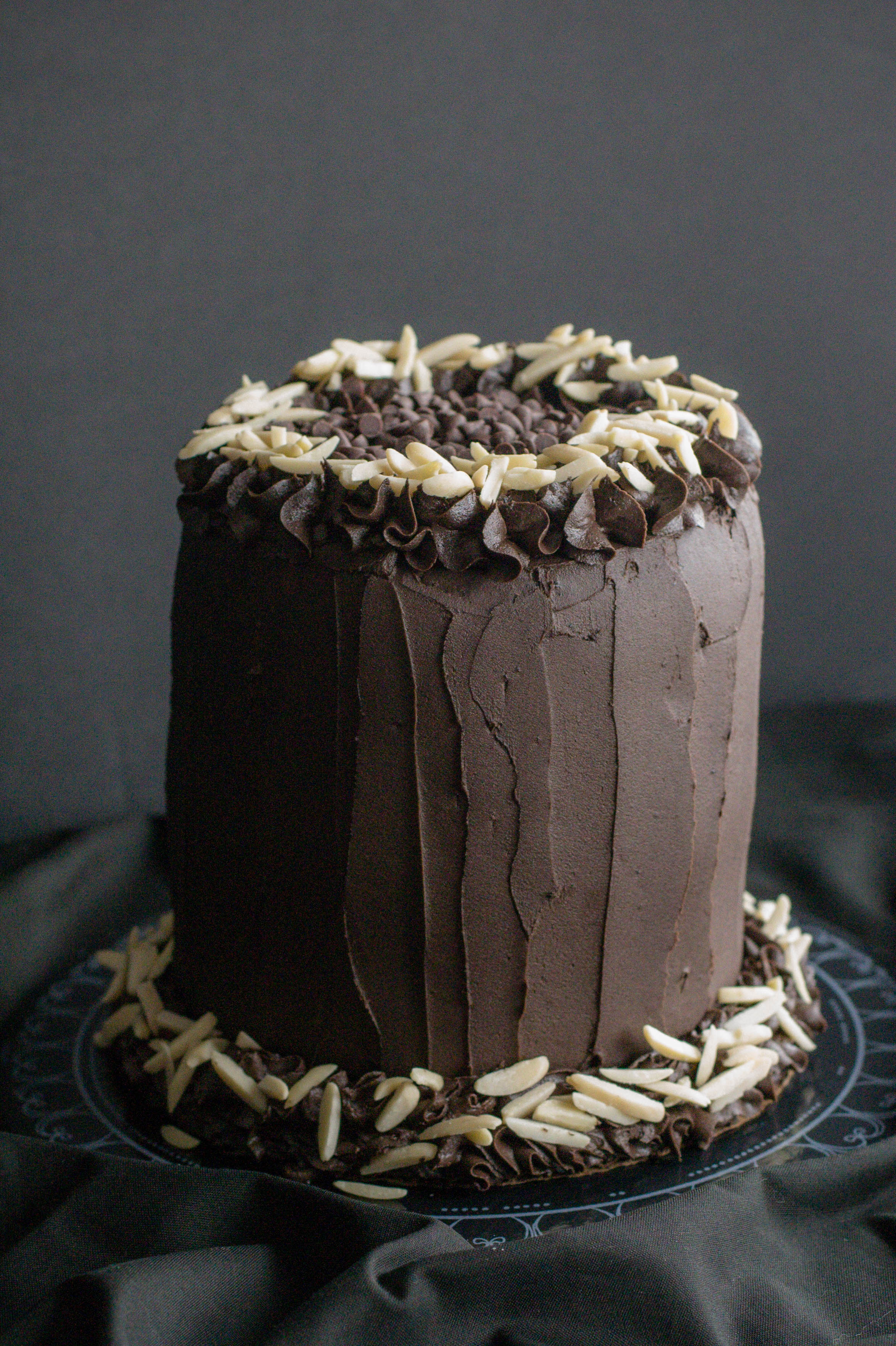 Best Ever Dark Chocolate Cake What The Forks For Dinner