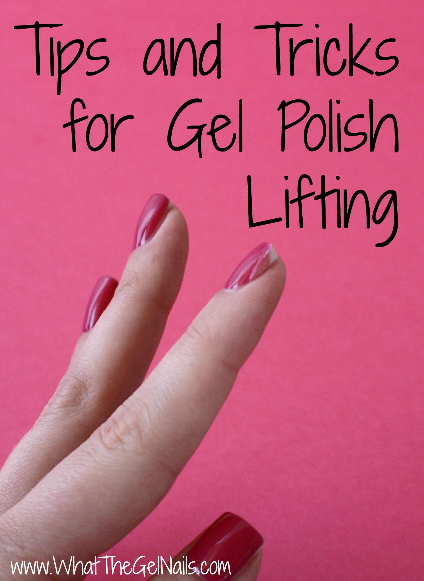 Why Do My Acrylic Nails Keep Lifting : acrylic, nails, lifting, Tricks, Polish, Lifting