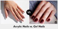 Gel Nails Vs Acrylic Nails Vs Shellac - Nails Gallery