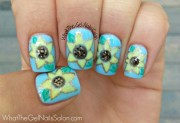 summer nail art design