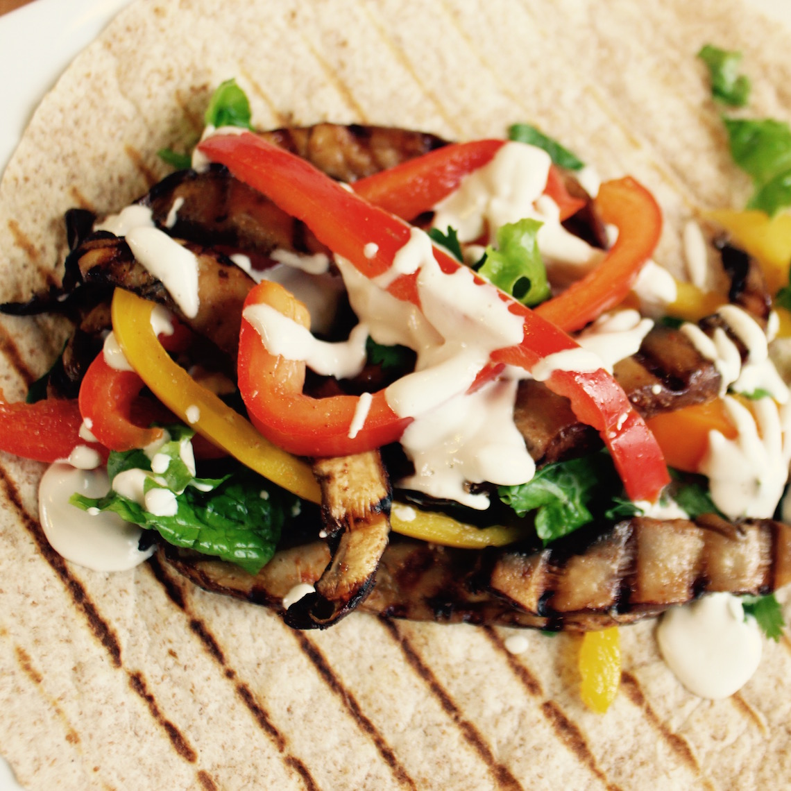 Portobello Steak Fajitas