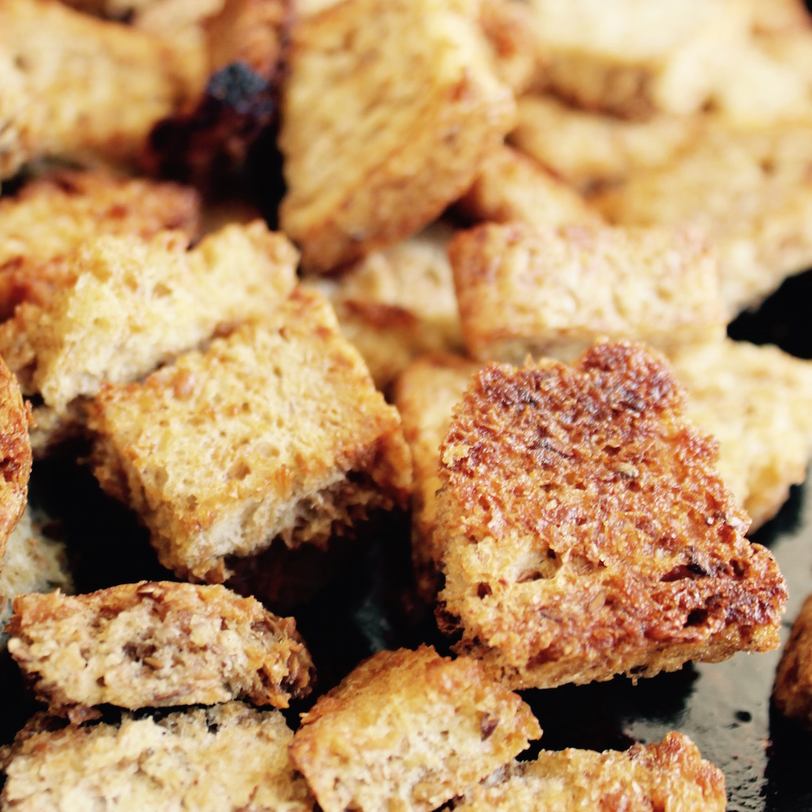 Maple Croutons