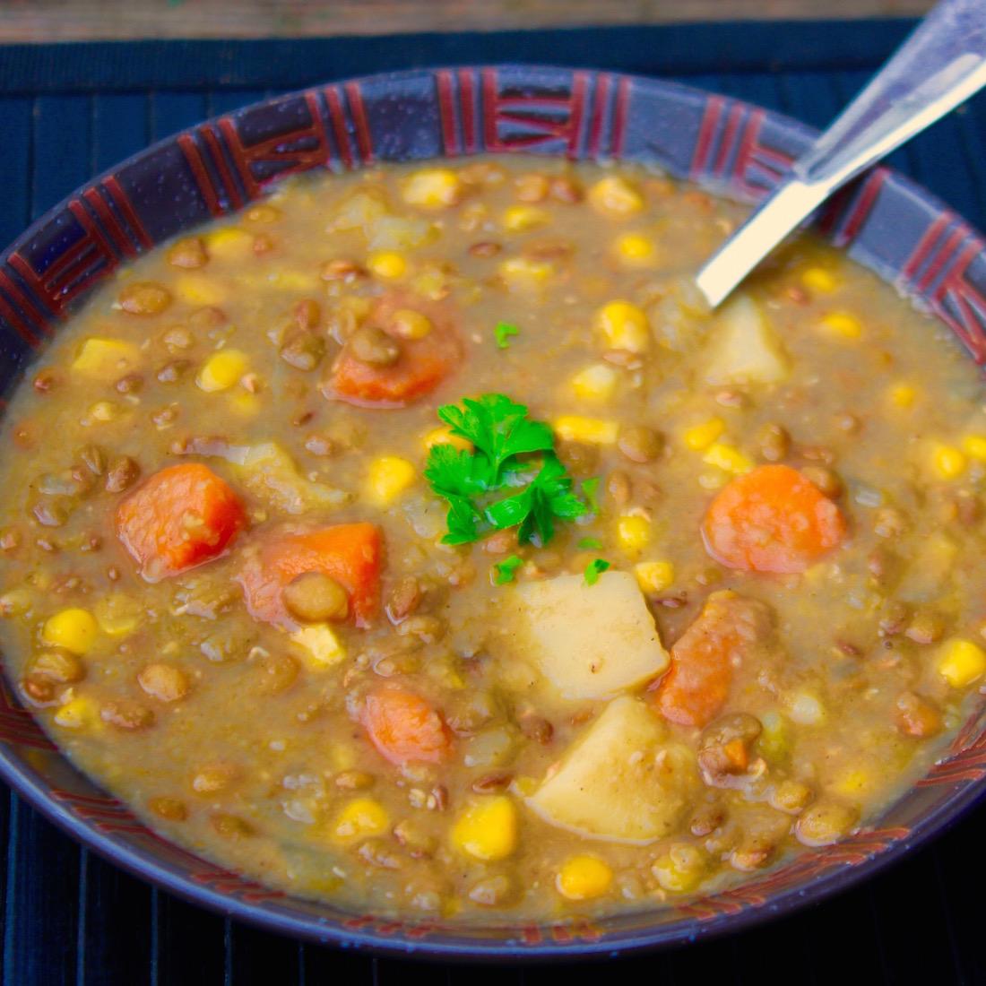 Scrumptious Lentil Soup