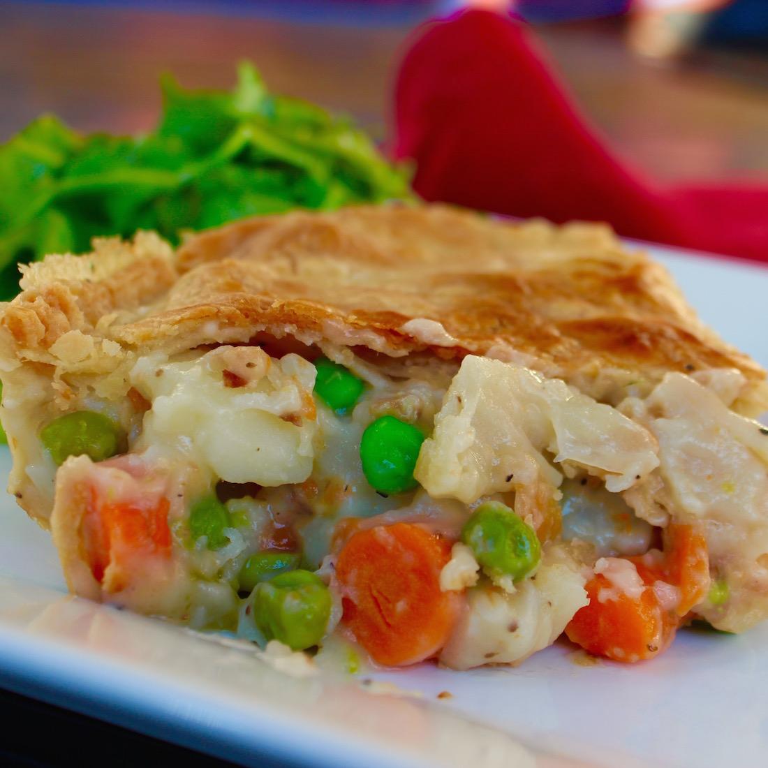 The Tastiest Veggie Pot Pie