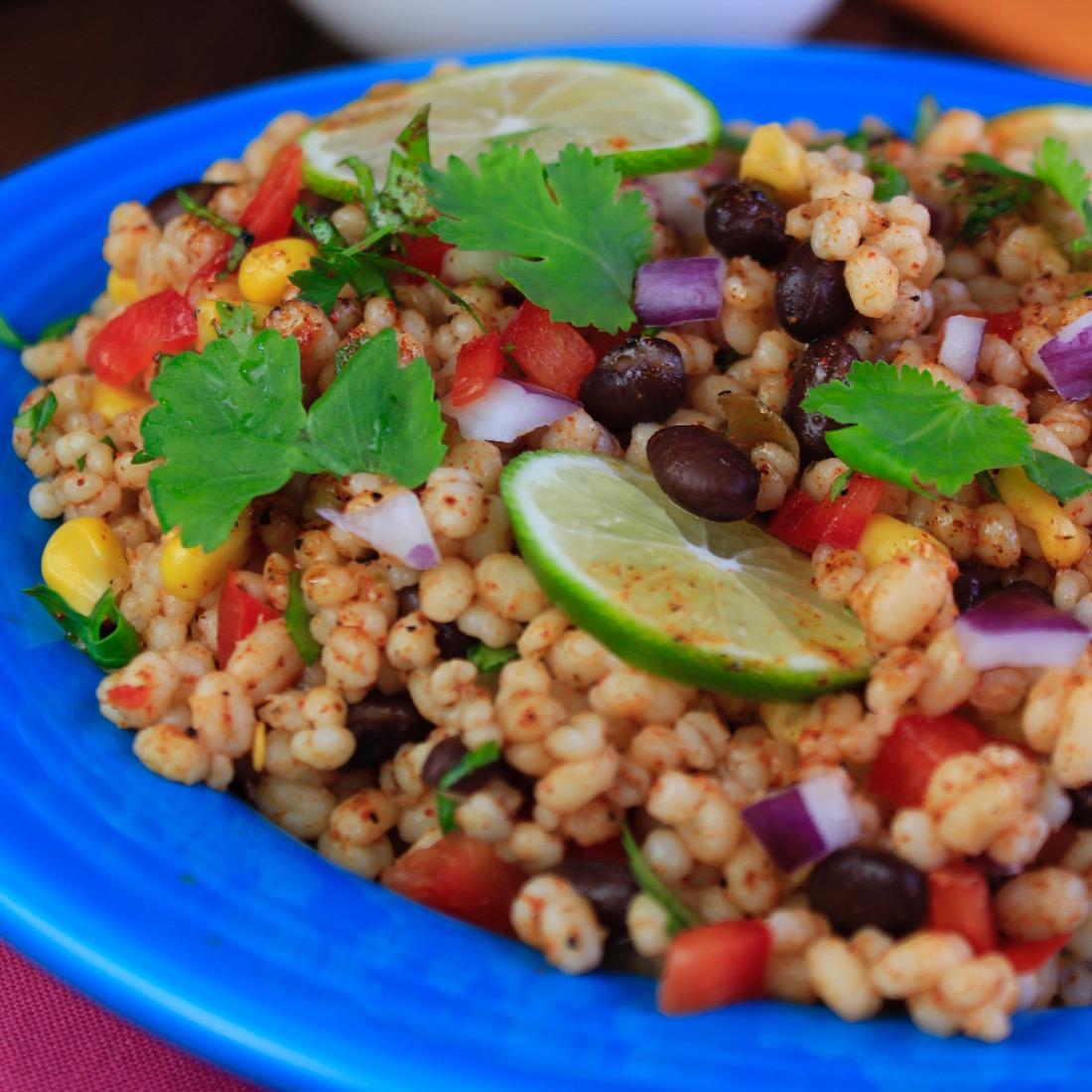 Taco Fiesta Barley Salad7