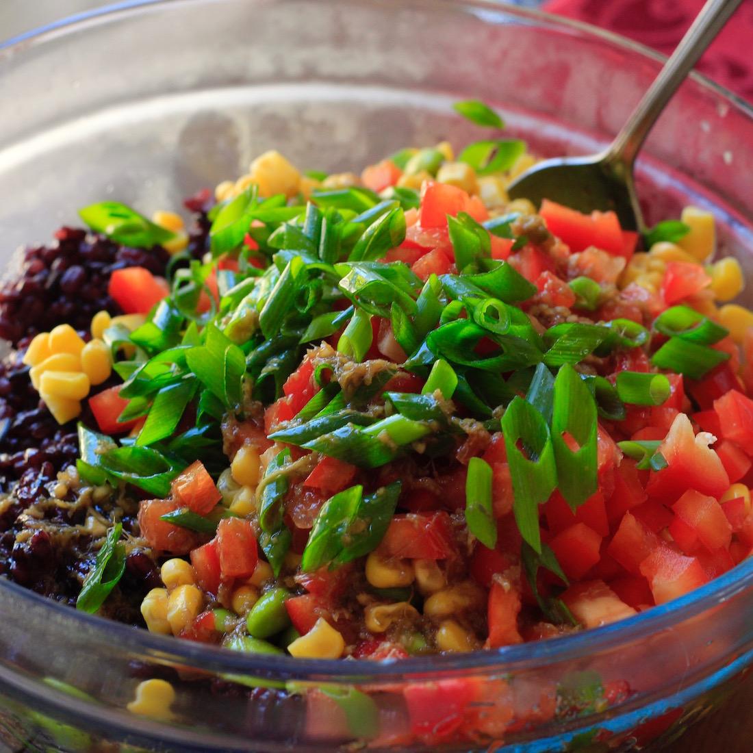Sesame Ginger Barley and Wild Rice Salad2