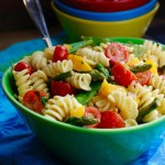 Spring Pasta Salad with Fresh Baby Asparagus